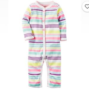 Carter's Muti-Colored Stripped Pajamas